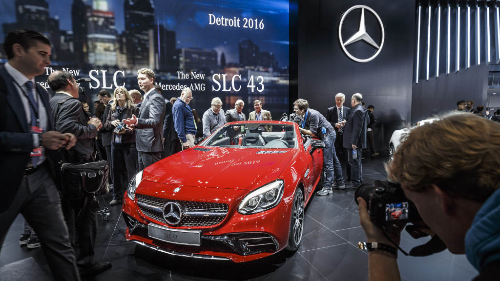 Mercedes-Benz at the NAIAS, Detroit 2016 Dream Cars