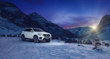 Winter Wonderland – Mercedes-Benz GLE 400 Coupe tackles the Alps