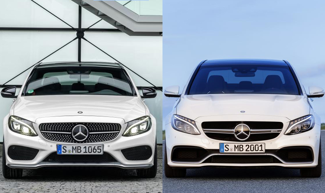 Mercedes AMG C 63 versus Mercedes C 450 AMG Sport 4Matic. What's different?
