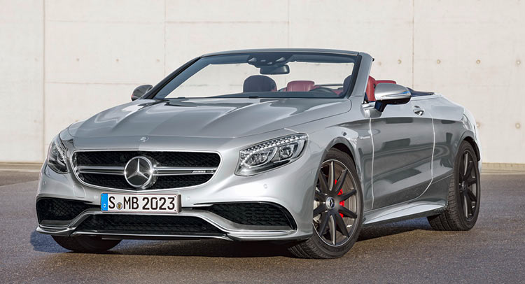 "S63 AMG Cabriolet ""Edition 130"" honors the birthday of the automobile"