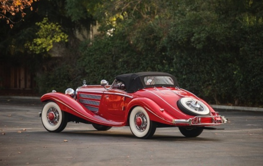 Mercedes-Benz 540 K Special Roadster world's most expensive