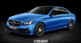 First look at Mercedes-AMG E 63's secrets. 600 HP for top E-Class