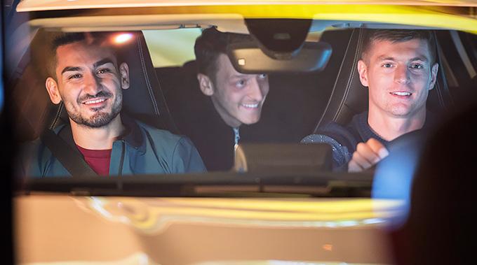 Euro 2016 Mercedes-Benz campaign