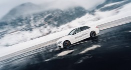 Ice, ice, baby! The Mercedes-Benz Driving Event defies winter