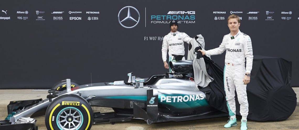 Unleash the beast! Mercedes F1 W07 makes public debut in Barcelona
