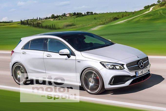 The 2018 Mercedes A Class And The Second Generation