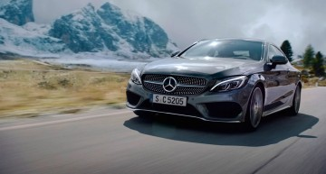 Sin of speed – Mercedes-Benz C-Class Coupe pushed to the limit in TV ads