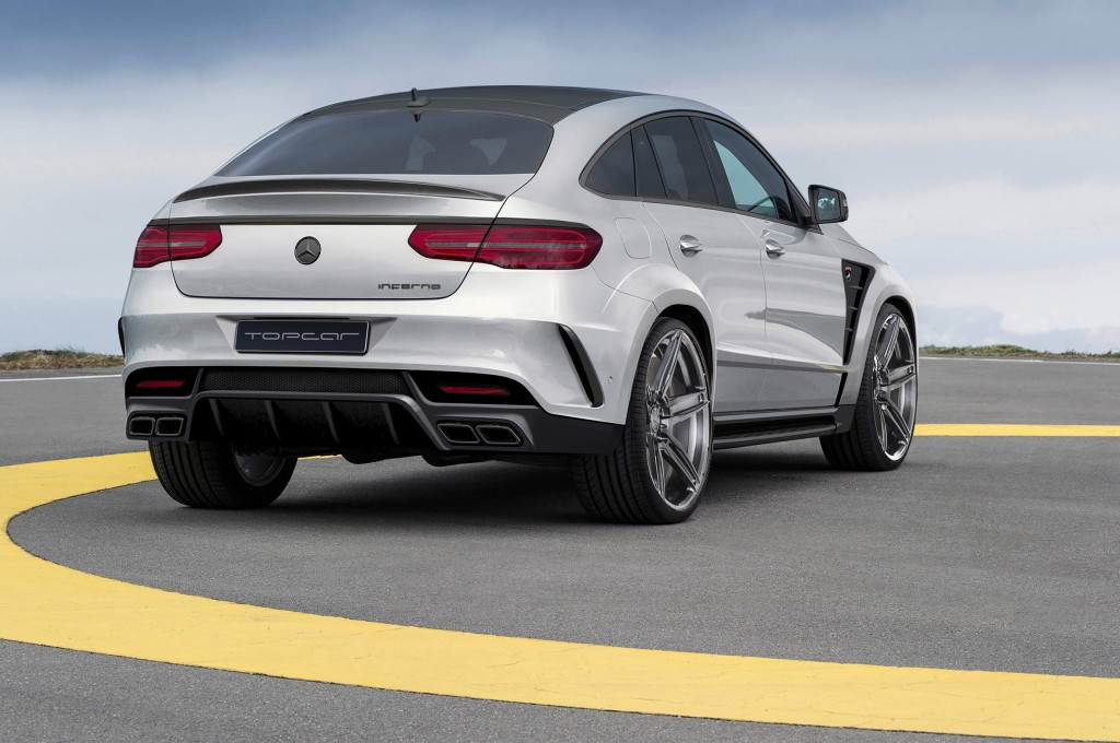 the mercedes benz gle coupe inferno it comes from hell. Black Bedroom Furniture Sets. Home Design Ideas