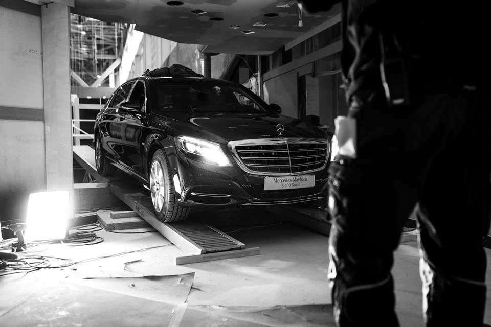 Special delivery: Mercedes-Maybach S 600 Guard arrived in Geneva