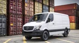 Entry-level Mercedes Sprinter Worker launched in the US