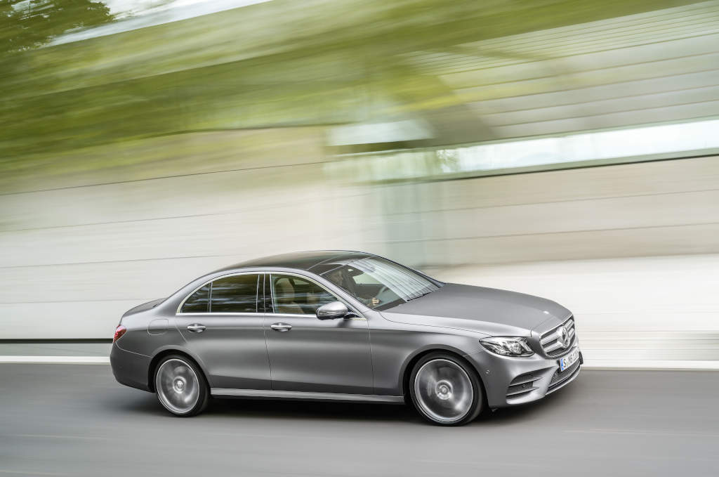 Sales in January - Mercedes-Benz E-Class 4Matic