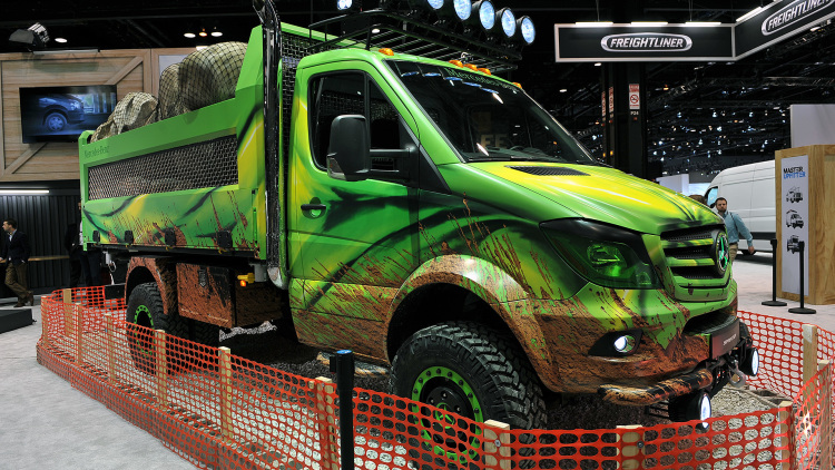 From mild to wild - The Mercedes-Benz Sprinter Extreme ...