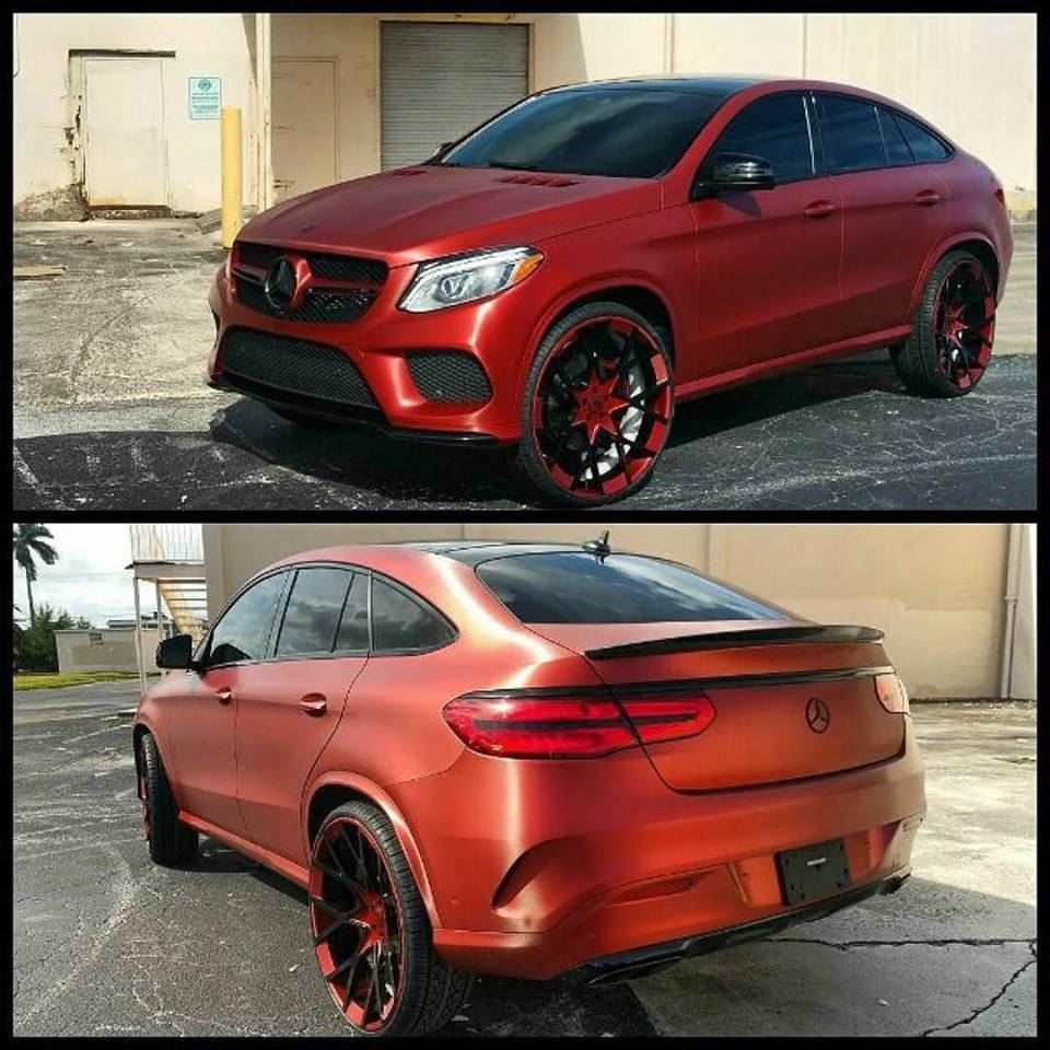 Tate Design Mercedes GLE 450 AMG Coupe