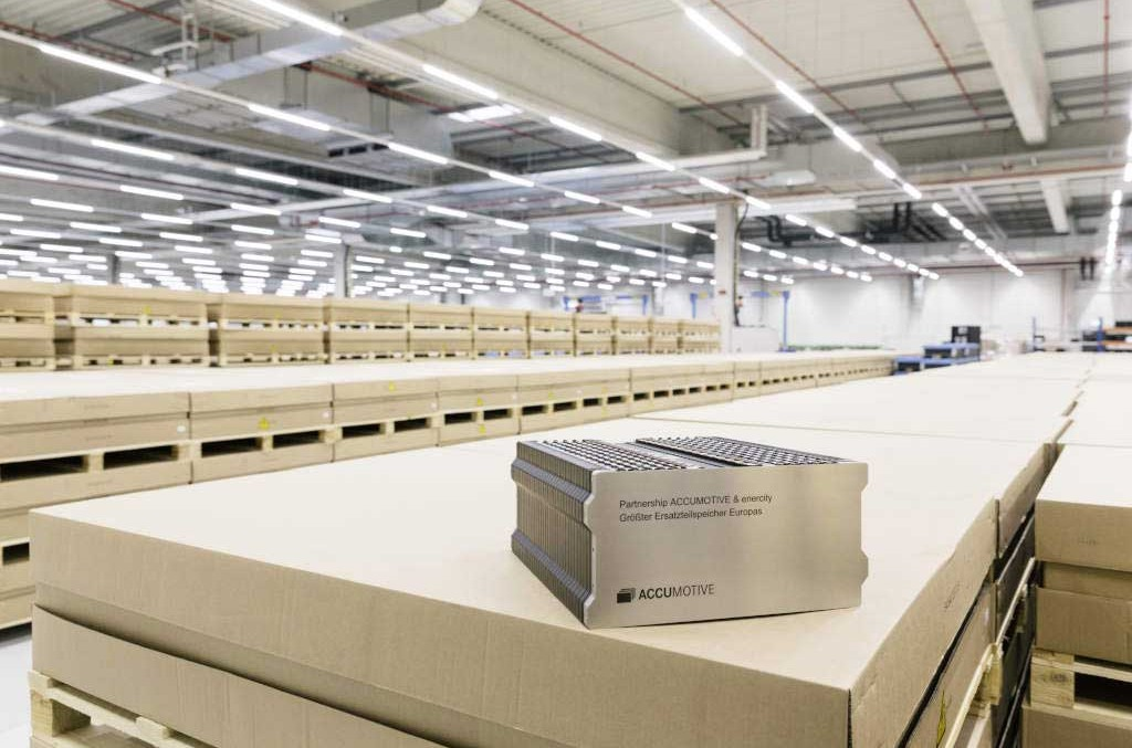 Living spare parts store: Daimler makes room for its battery modules