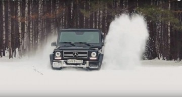 The winter ain't over yet – It's playtime for the Mercedes G-Class