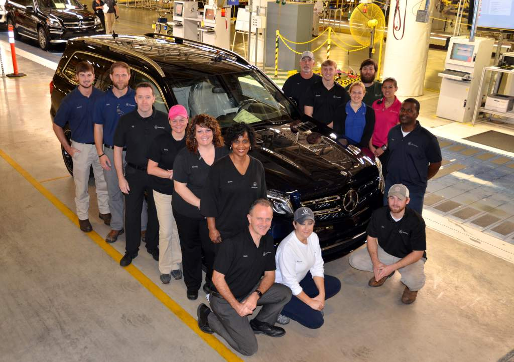 Mercedes benz gls production kicks off in tuscaloosa for Mercedes benz tuscaloosa alabama