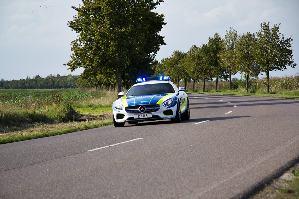 The Mercedes-AMG GT joins the German police force