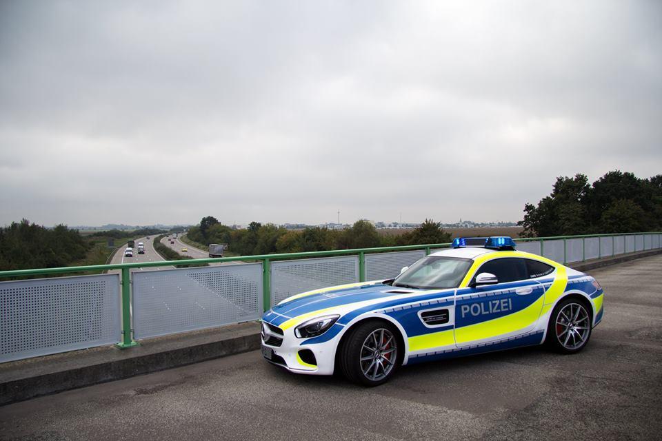 AMG GT Police Car 5