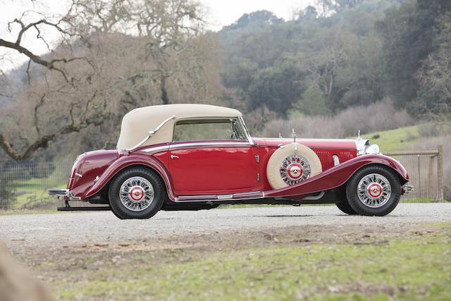 Mercedes 500K cabriolet C 1935