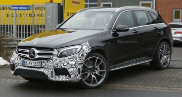 Exclusive: Mercedes-AMG GLC 63 at Nurburgring