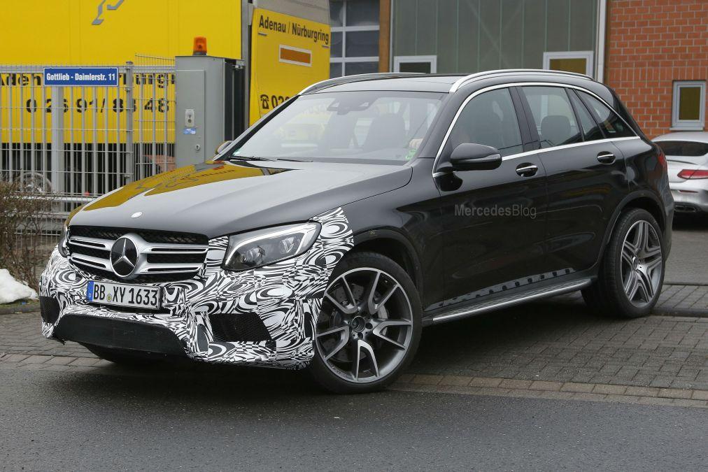 Exclusive: Mercedes-AMG GLC 63 at Nurburgring
