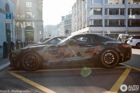 Mercedes-AMG GT in military camo (4)