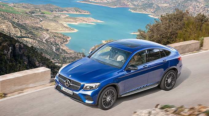 The day has come! – This is the new Mercedes-Benz GLC Coupé
