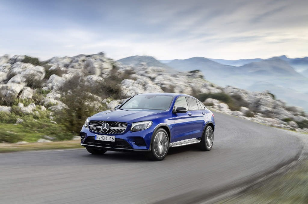 How much cost the new Mercedes GLC Coupe