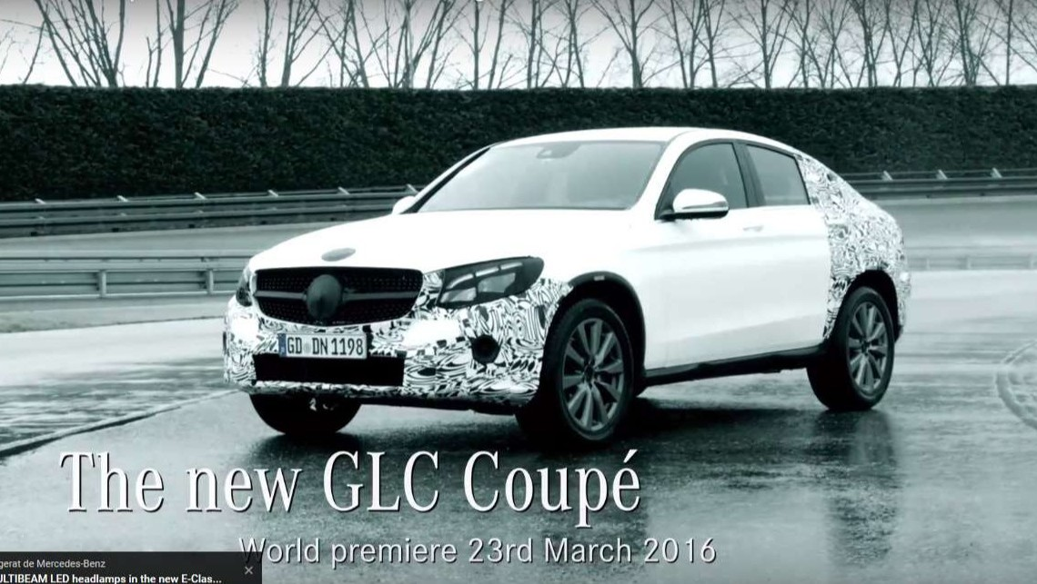 The new Mercedes-Benz GLC Coupé is ready to take on New York