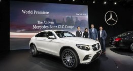 New York International AutoShow: four Mercedes-AMG models and the new Mercedes GLC Coupe