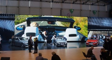 GENEVA 2016 REPORT. Live tour of the Mercedes-Benz stand