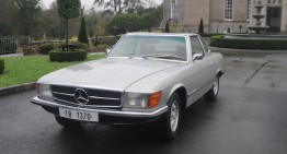 Ceausescu's Mercedes 350 SL for sale at Bonhams auction