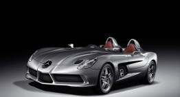 2009 Mercedes-Benz SLR McLaren 'Stirling Moss' sold for  €2,300,000 at Bonhams auction