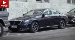 Remote Parking Pilot: Mercedes E-Class shows James Bond skills