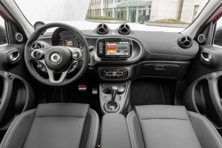 smart BRABUS forfour Xclusive