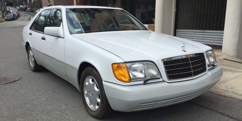 Too New To Be Classics Two Mercedes Limos From The Early