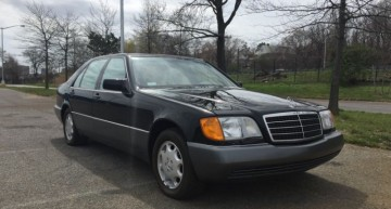 Too new to be classics – Two Mercedes limos from the early 90s on sale for $300,000
