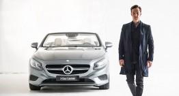 Best Dressed – Actor Benedict Cumberbatch meets Mercedes-Benz S-Class Cabriolet