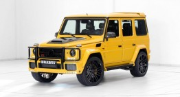 Sunbright Mercedes G63 Widestar under the Brabus spell