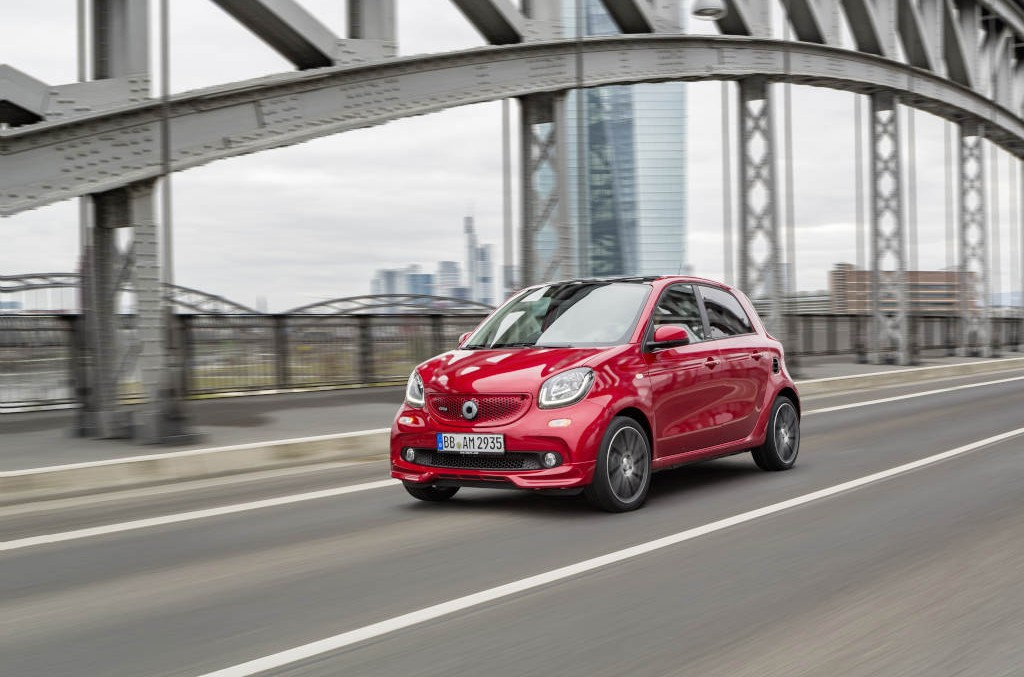The strongest ever made – the new smart Brabus