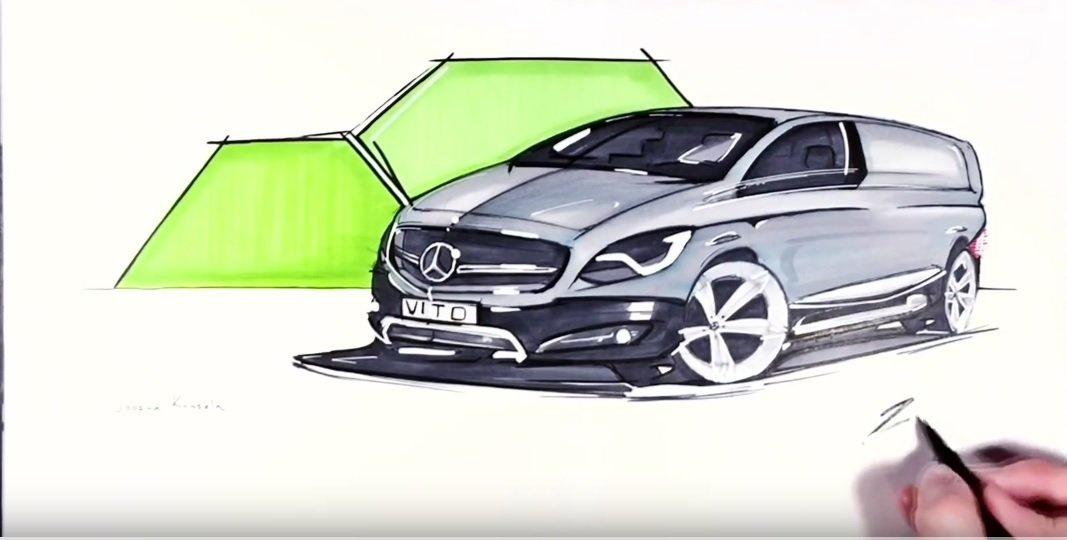 Young prodigy meets the Mercedes-Benz design guru