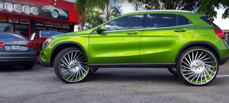 Mercedes-Benz GLA Forgiato Wheels