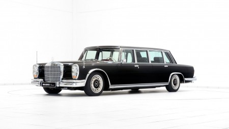 Mercedes-Benz 600 Pullman Restored by Brabus