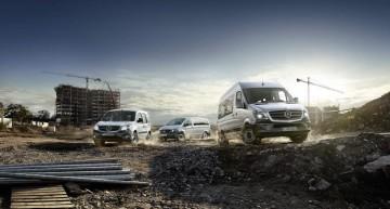 Triple Award Wins for Mercedes-Benz Vans
