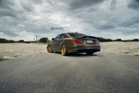 Mercedes CLS 63 AMG with Strasse Wheels (6)