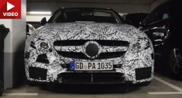 New Mercedes-AMG E 63 Estate hiding in dark corners (video)
