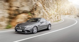 First driving report Mercedes SLC