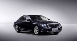 Take a closer look – The first video of the long Mercedes-Benz E-Class