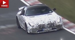 TOP GUN: 550 hp Mercedes-AMG GT-R spy video hits the web
