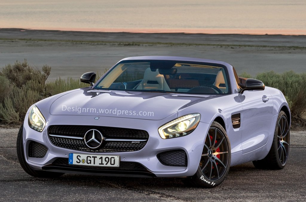 A Mercedes-AMG GT Roadster is on the way
